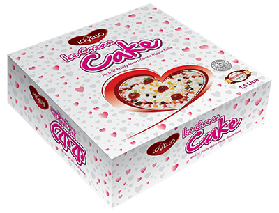 Heart Shaped Cake 1 lt
